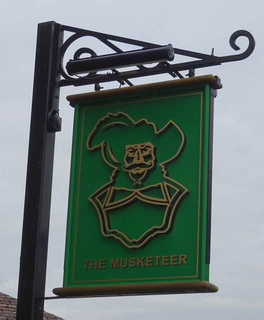 Sign for the Musketeer, Banbury