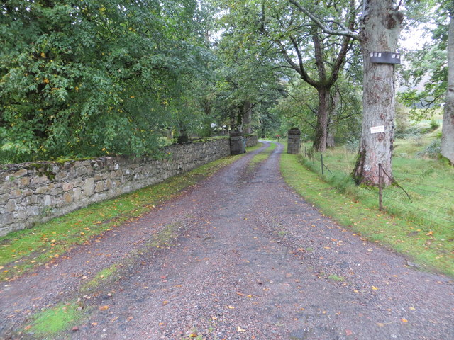 Track to Calert House