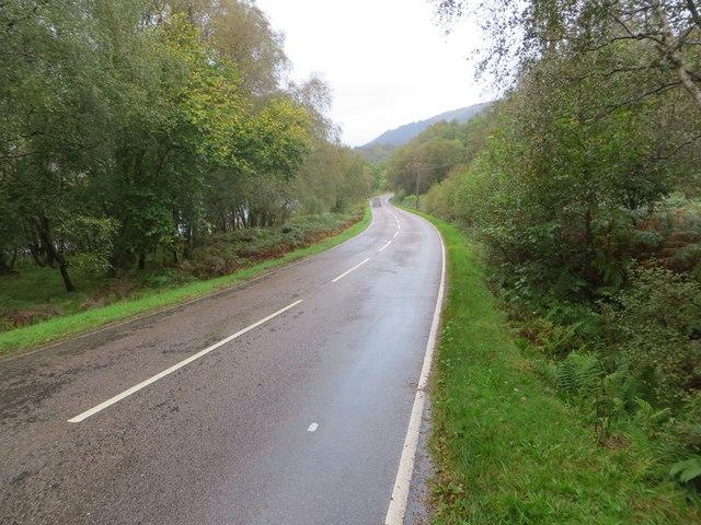 Road (B863) at A' Choille Chruim