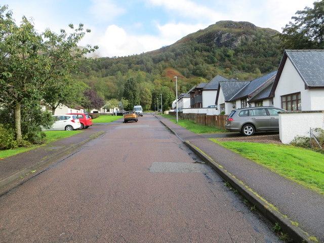 Sutherland Avenue in Kinlochmore