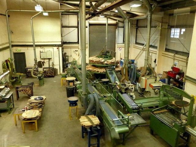 Speyside Cooperage, timber workshop