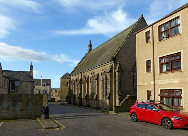 Hall Place, Elgin