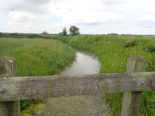 Drainage ditch in Halvergate Marshes