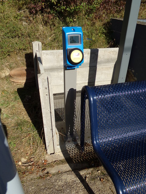 Card Reader at White Notley Railway Station