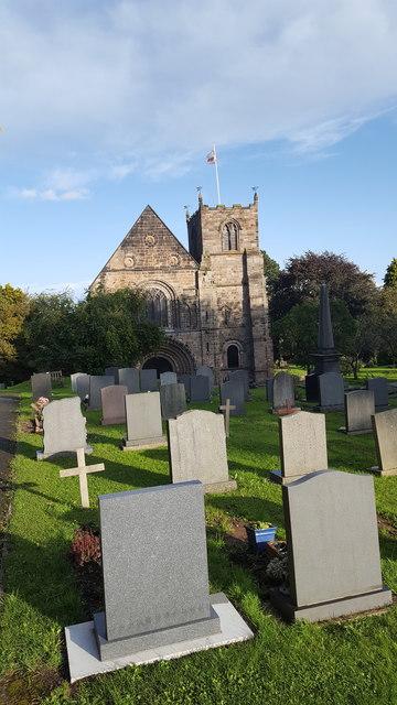Parish church in Tutbury