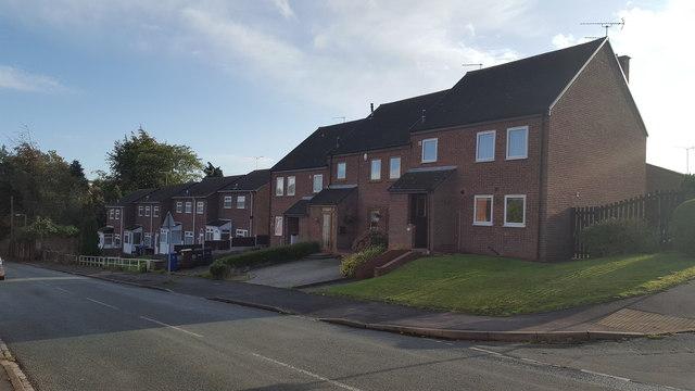 Houses in Tutbury