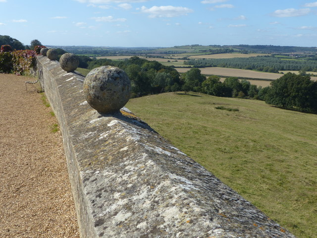 View from Rockingham Castle
