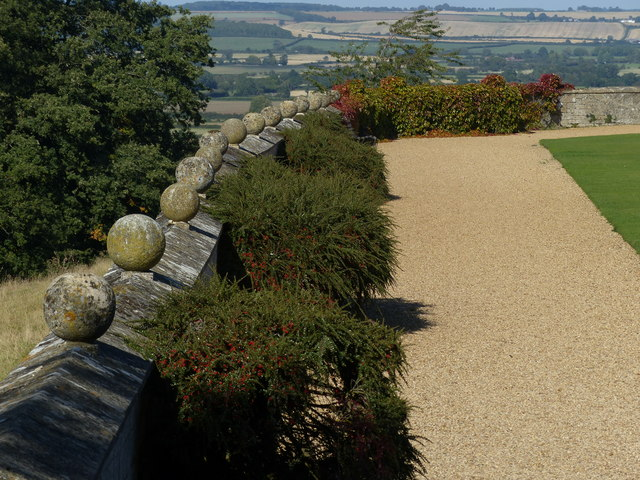 Rockingham Castle Gardens