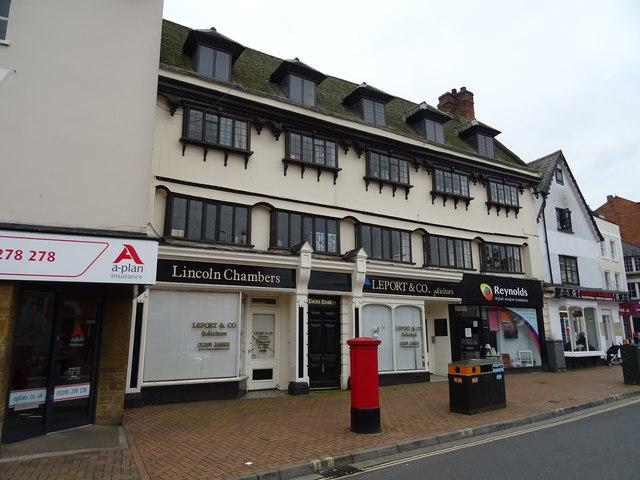 Businesses on Market Place, Banbury