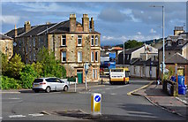 NS2059 : Irvine Road, Largs, North Ayrshire by Mark S