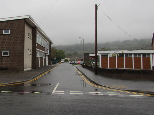 Unnamed side road in Bedwas