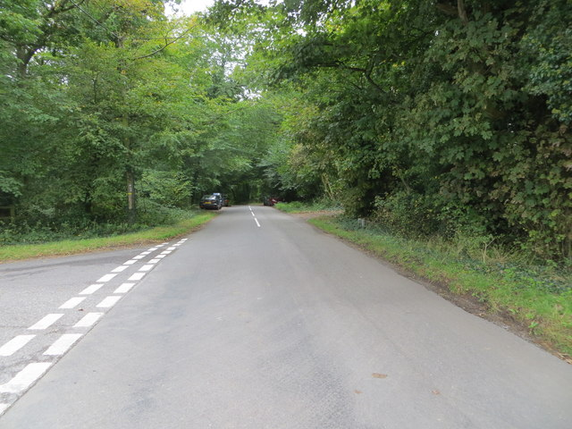 Peters lane approaching Whiteleaf Hill