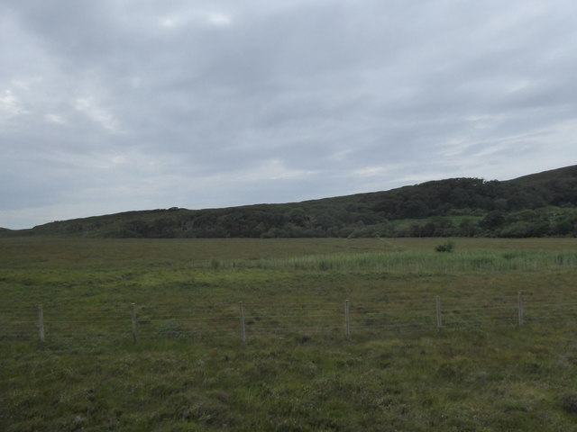 Wet moorland by the West Highland Line