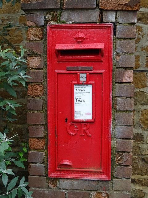 George V postbox, Swalcliffe