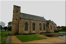 NZ4057 : St Peter, Monkwearmouth - south elevation by David Kemp