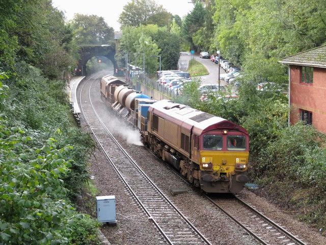 Rail-Head Treatment Train at Llanishen