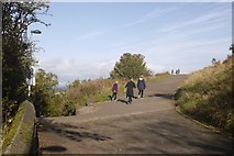 NT2674 : Paths on Calton Hill by Richard Webb