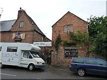 SK5815 : Former workshop at 7 Loughborough Road, Mountsorrel by Richard Law