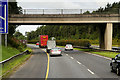 N7913 : Westbound M7, Green Road Bridge by David Dixon