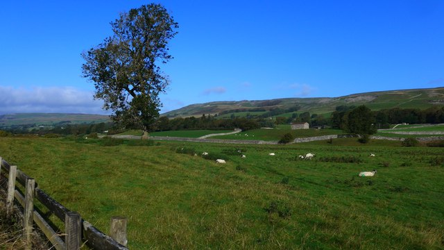 Looking over the valley of the River Ure