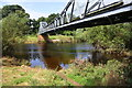 NY4156 : Memorial Bridge over River Eden from SE bank of the river by Roger Templeman