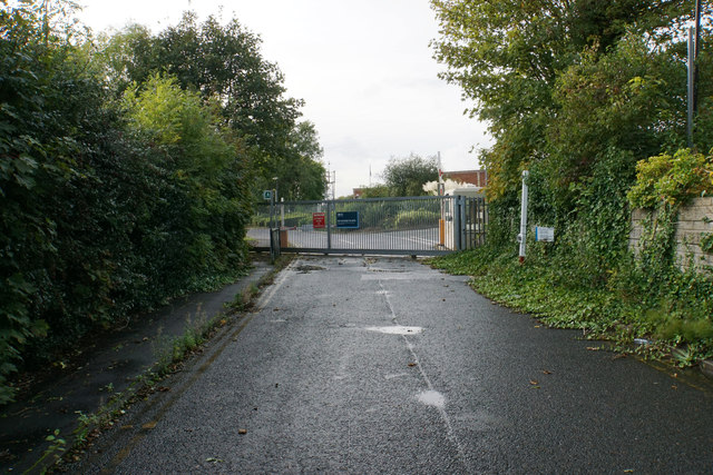 Entrance to Davyhulme Waste Water Treatment Works