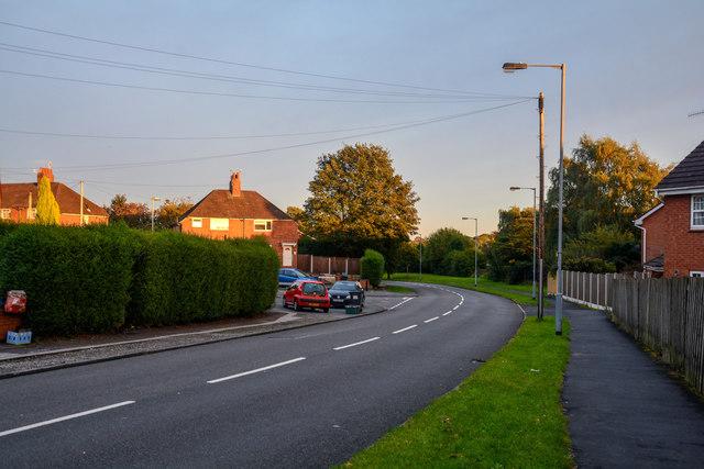 Newcastle-Under-Lyme : Knutton Lane