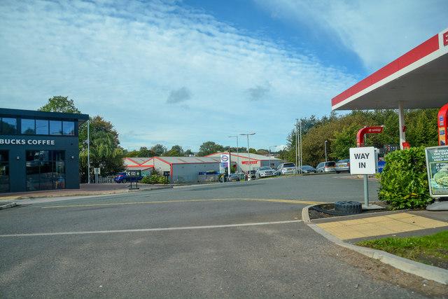 Newcastle-Under-Lyme : Holditch Service Station