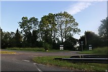 TL0060 : Right turn on Bedford Road, Sharnbrook by David Howard