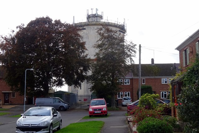 Brafield on the Green Water Tower