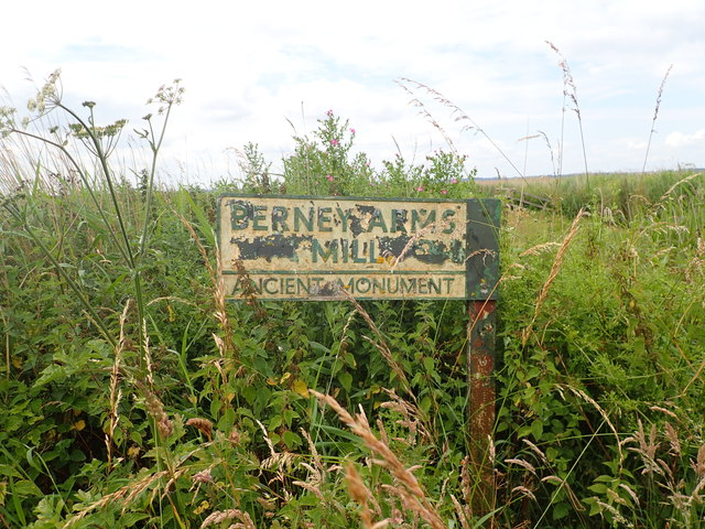 Sign for Berney Arms Mill