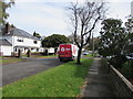 ST1580 : DPD van parked in Pen-y-dre, Whitchurch, Cardiff by Jaggery