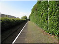 ST1580 : West along Whitchurch (Cardiff) railway station by Jaggery