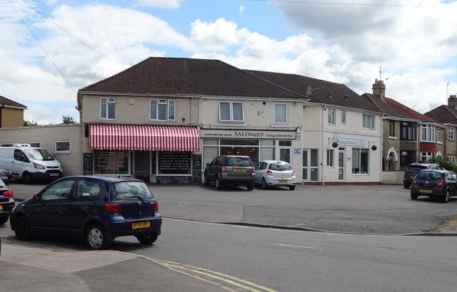 Shops on Cirencester Road, Charlton Kings, Cheltenham