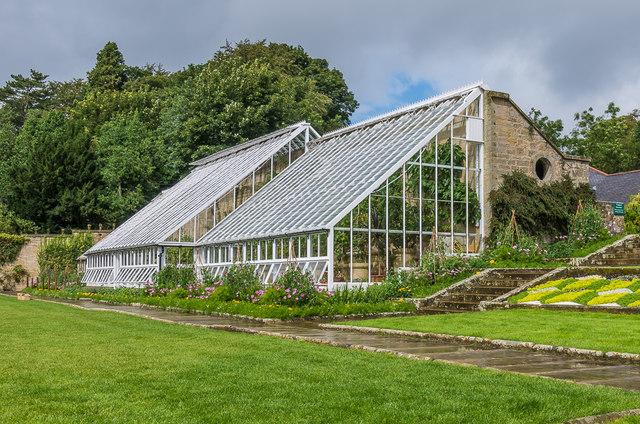 Conservatory, Formal Garden, Cragside