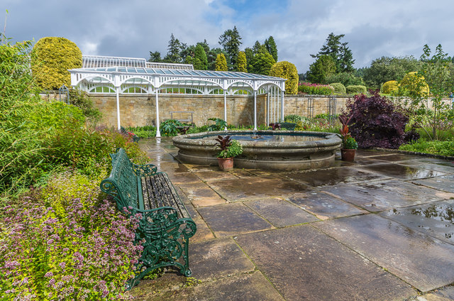 Arbour, Formal Garden, Cragside