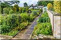 NU0602 : Formal Garden, Cragside by Ian Capper