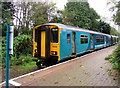 ST1480 : Class 150 dmu at Coryton station, Cardiff by Jaggery
