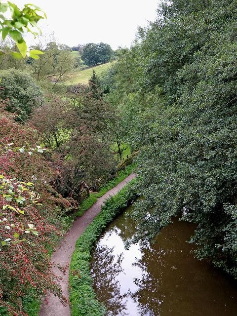 Caldon Canal near Denford in Staffordshire