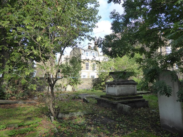 Former Stepney Meeting Burial Ground, White Horse Road
