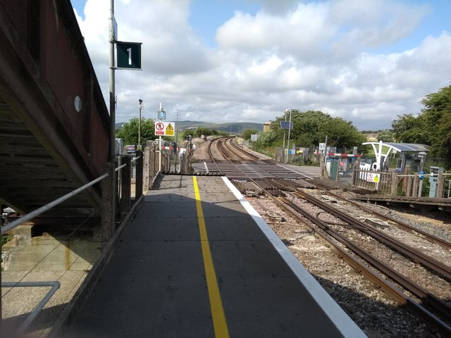 Southease Station and Level Crossing
