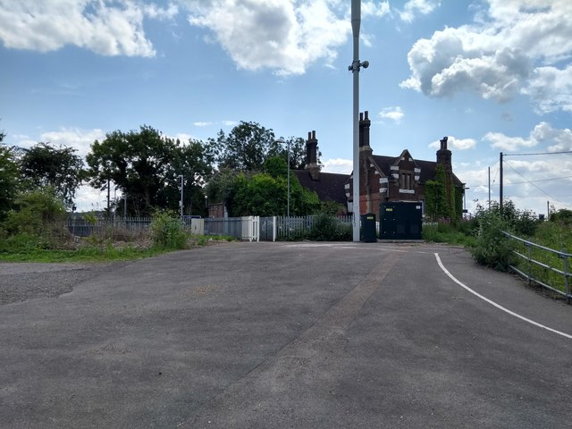 Cuxton Car Park and Station Building