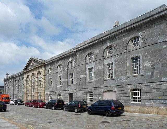 Former mill, Royal William Yard, Plymouth