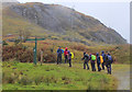 NN3009 : Signpost near Coiregrogain by Jim Barton