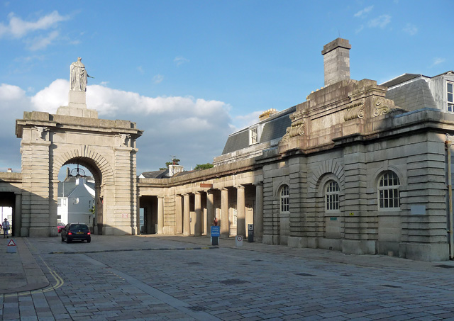 Former police building, Royal William Yard, Plymouth