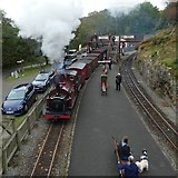 SH6441 : Steaming into Tan-y-Bwlch by Gerald England