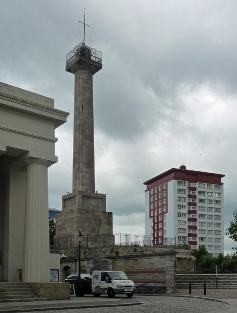 Column, Ker Street, Plymouth