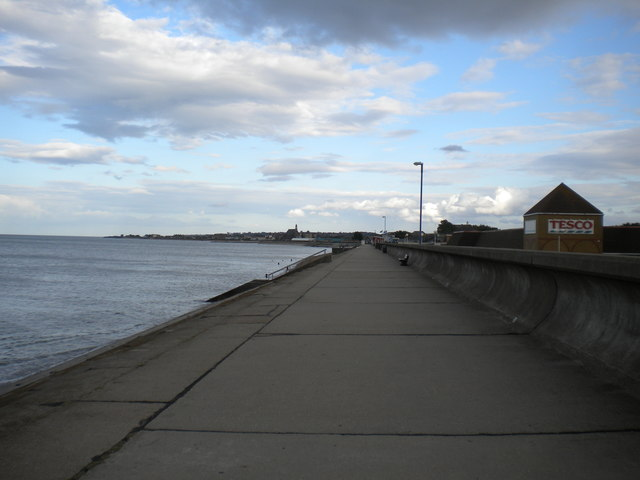 West end of the promenade, Sheerness