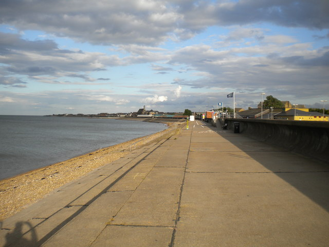 The promenade, Sheerness