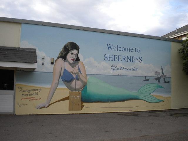 The Montgomery Mermaid, Sheerness